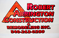 Robert Arrington Construction & Remodeling, Inc.