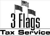 3 Flags Tax Service logo