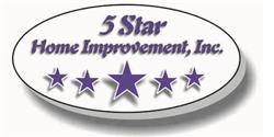 5 Star Home Improvement Logo