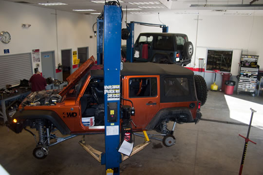 4Wheel Drive Hardware Installation Bay