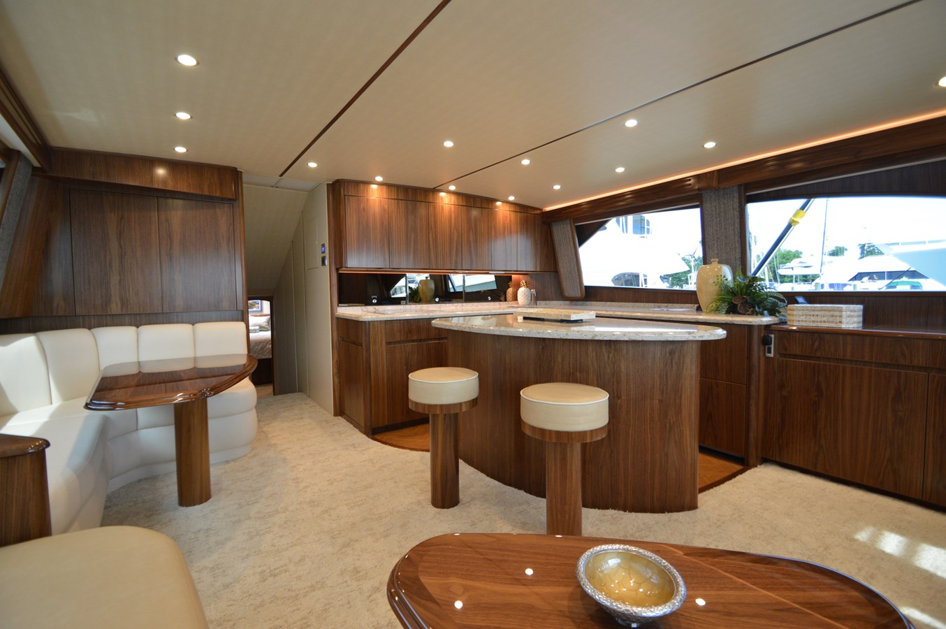 Salon/Galley - 62 VIKING For Sale