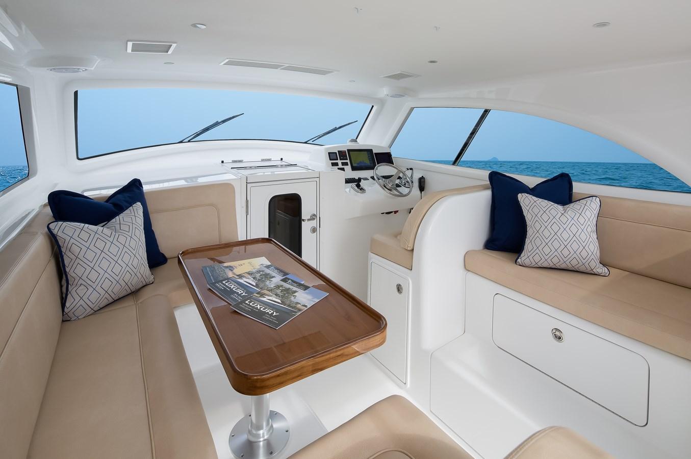 Viking 37 Billfish Interior - 37 VIKING For Sale