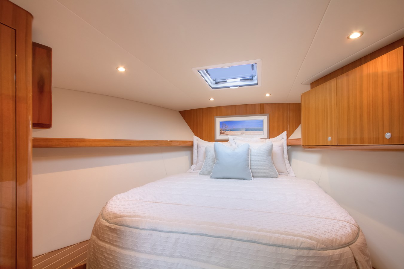 37BF Forward Stateroom-1 - 37 VIKING For Sale
