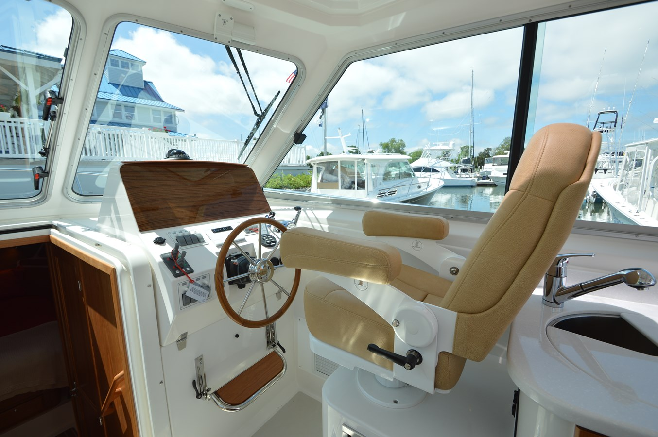 Helm and Helm Seat - 34 BACK COVE For Sale