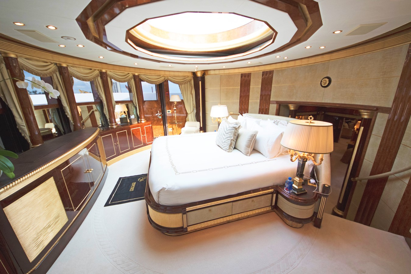 Master Stateroom - 203 BENETTI For Sale