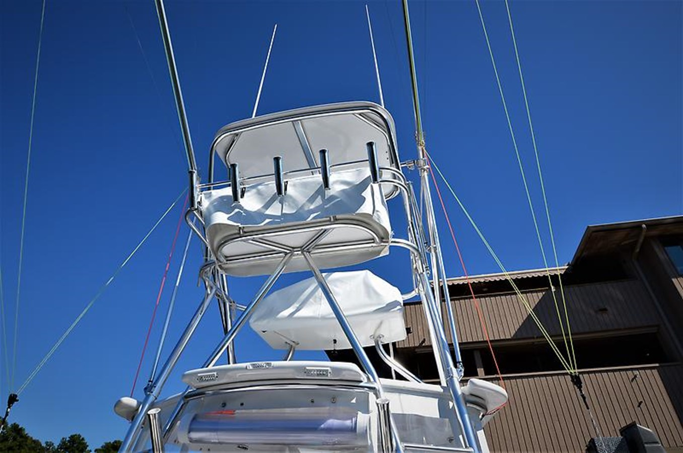 2001 Custom Rambo Fisharound Express Tower - 34 CUSTOM / RAMBO For Sale