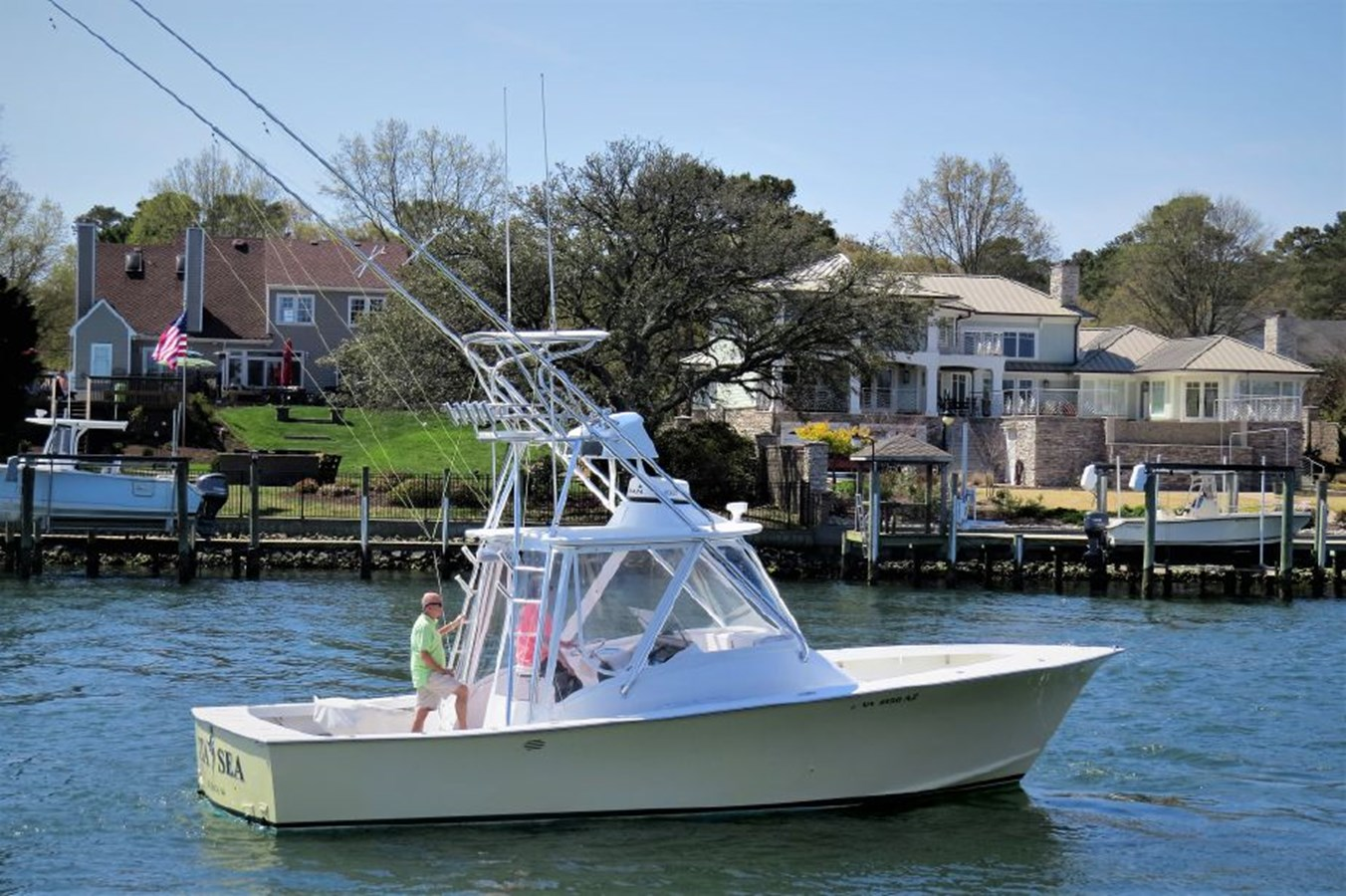 2001 Custom Rambo Fisharound Express Profile - 34 CUSTOM / RAMBO For Sale