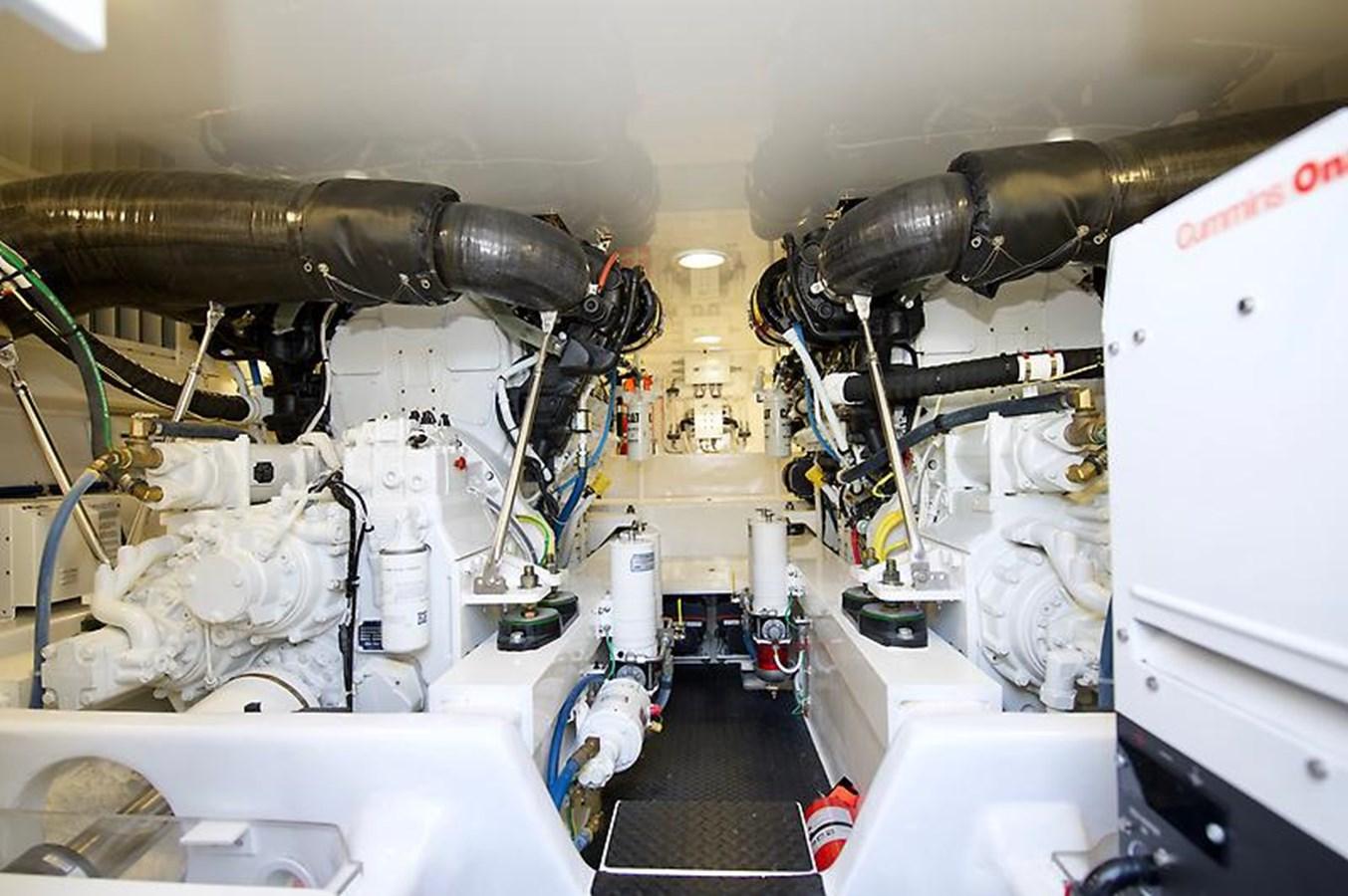 62 Viking Engine Room - 62 VIKING For Sale