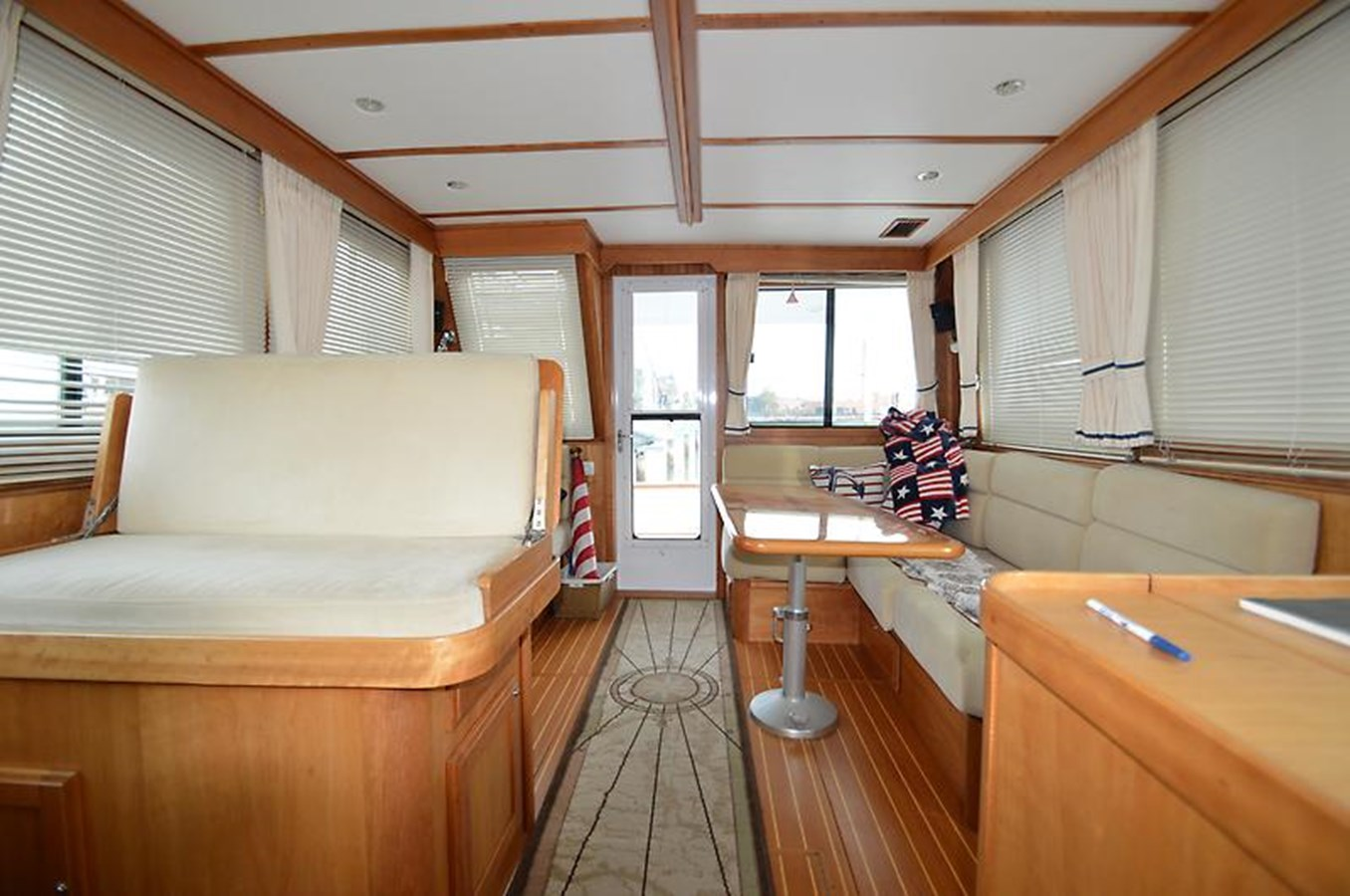 Looking Aft - 42 SABRE YACHTS For Sale