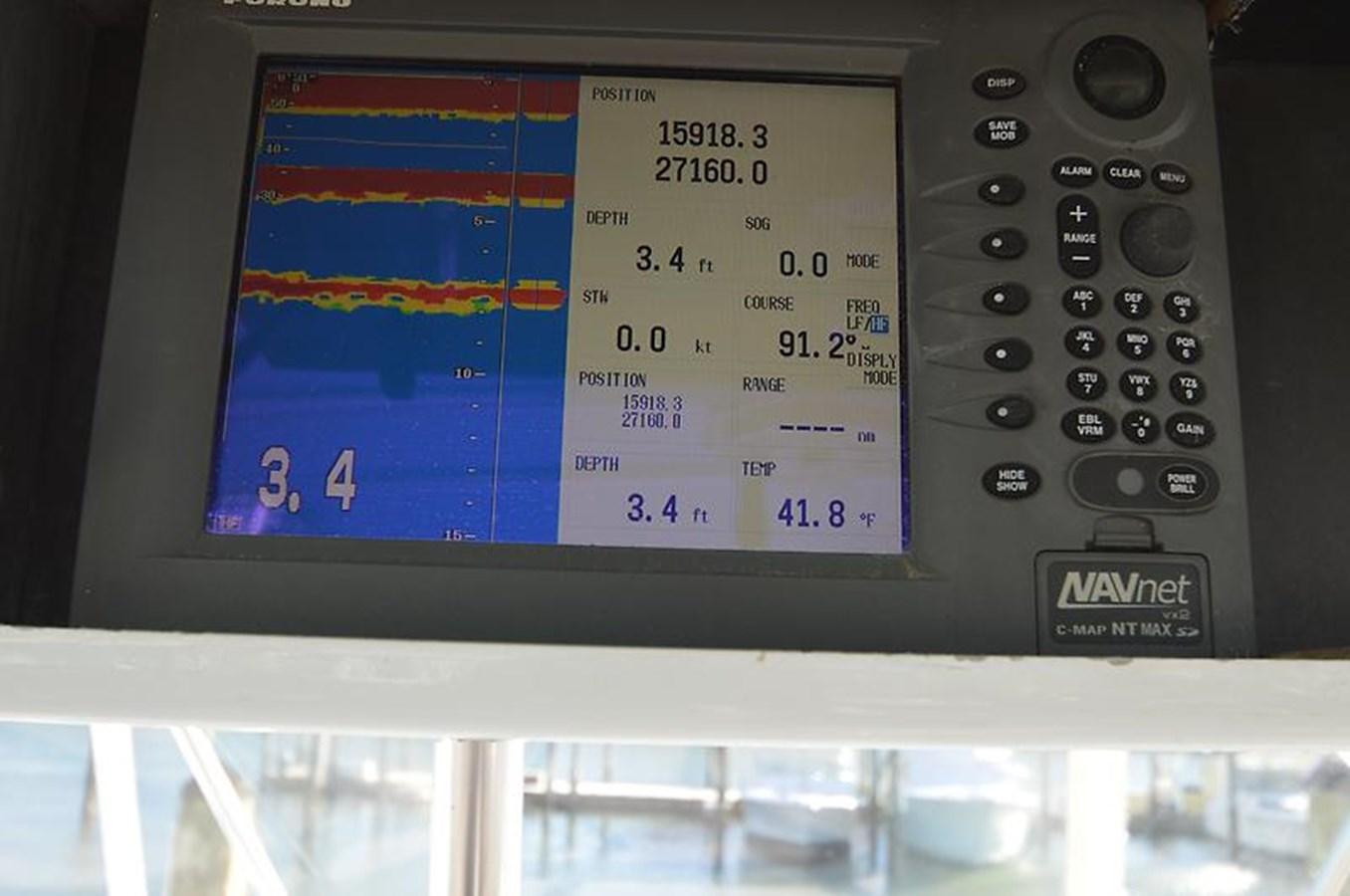 Depthfinder, GPS, Plotter - 45 VIKING For Sale