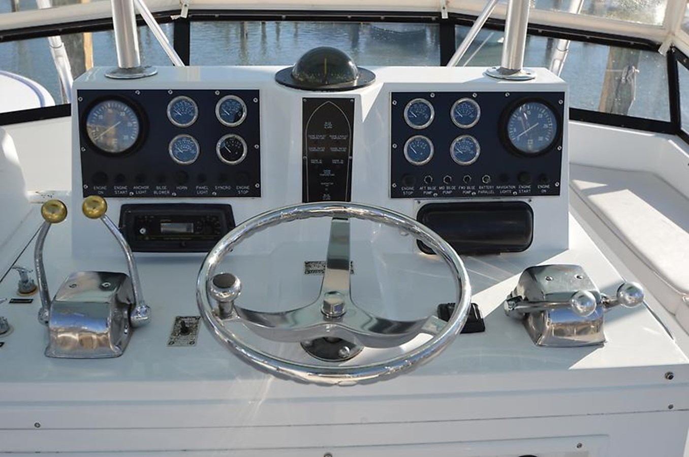 Engine Controls - 45 VIKING For Sale
