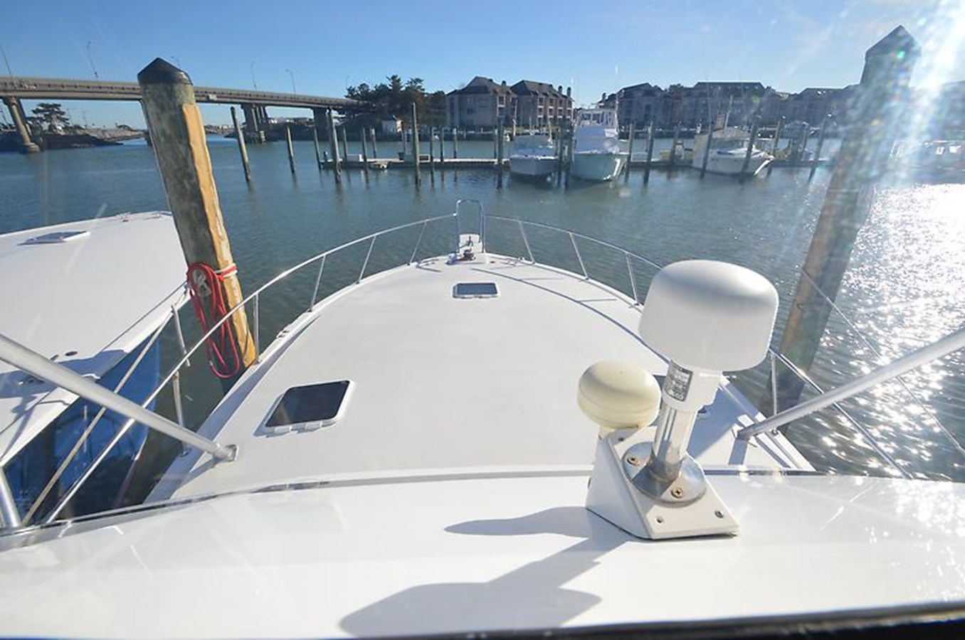 Foredeck - 45 VIKING For Sale