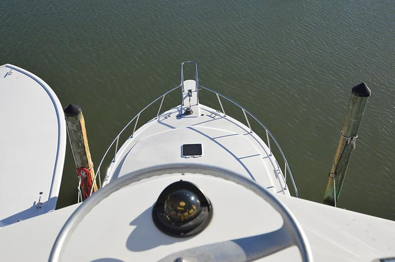 Foredeck from Tower - 45 VIKING For Sale