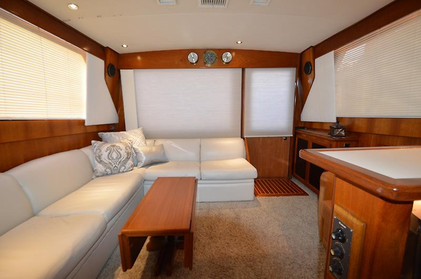Looking Aft in Salon - 45 VIKING For Sale