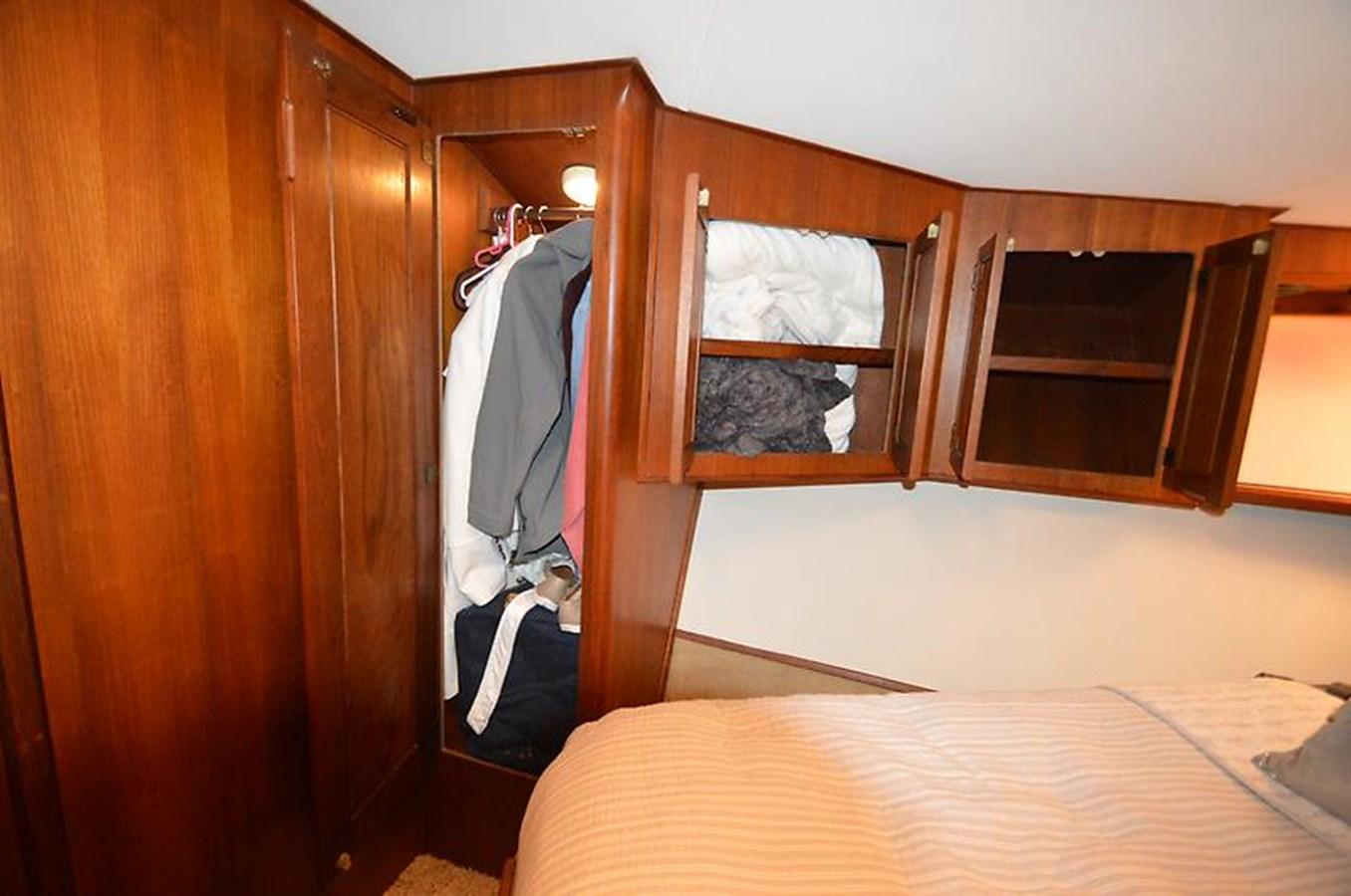 Master Stateroom Hanging Locker - 45 VIKING For Sale