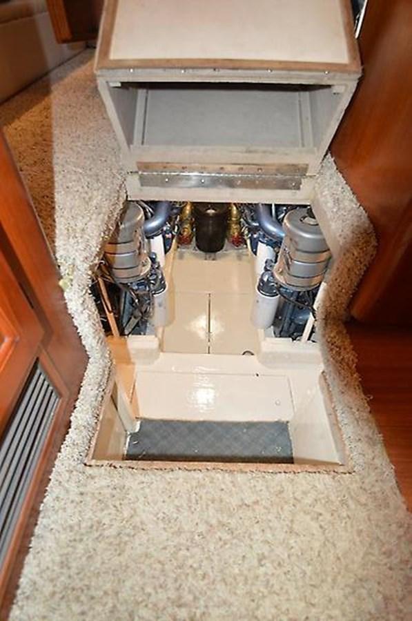 Engine Room Entrance - 45 VIKING For Sale