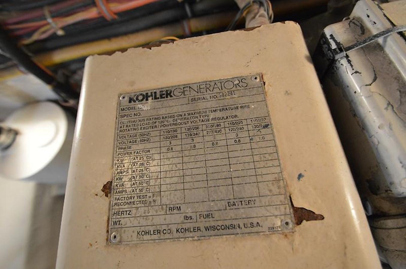 Generator Data - 45 VIKING For Sale