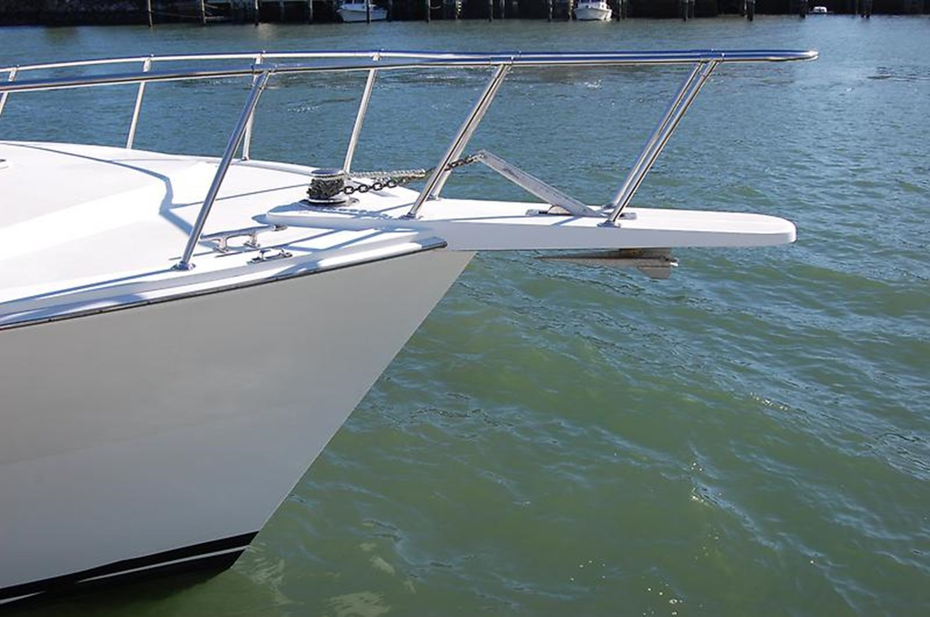 Pulpit and Windlass - 45 VIKING For Sale