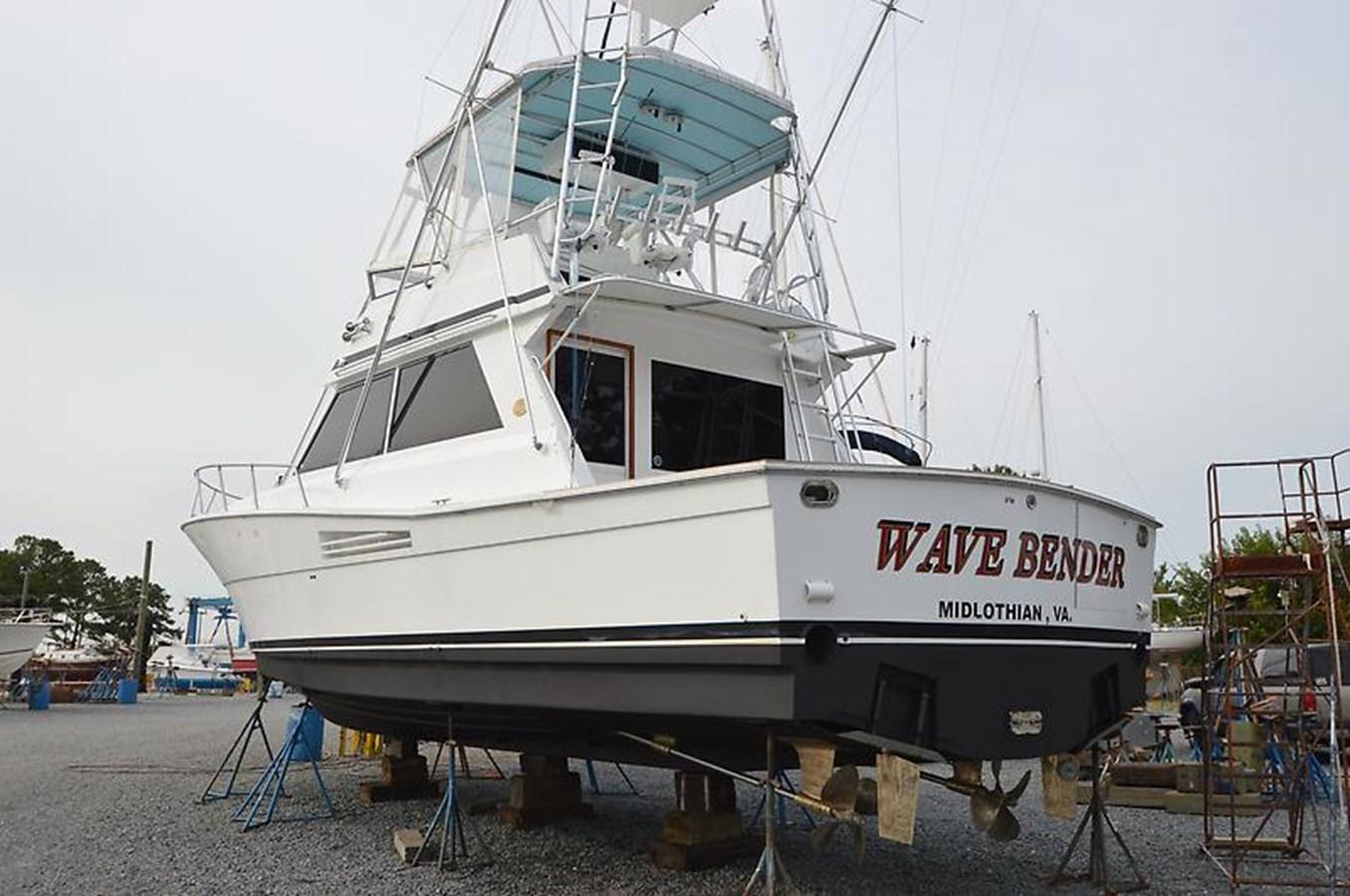Port Stern Profile - 45 VIKING For Sale