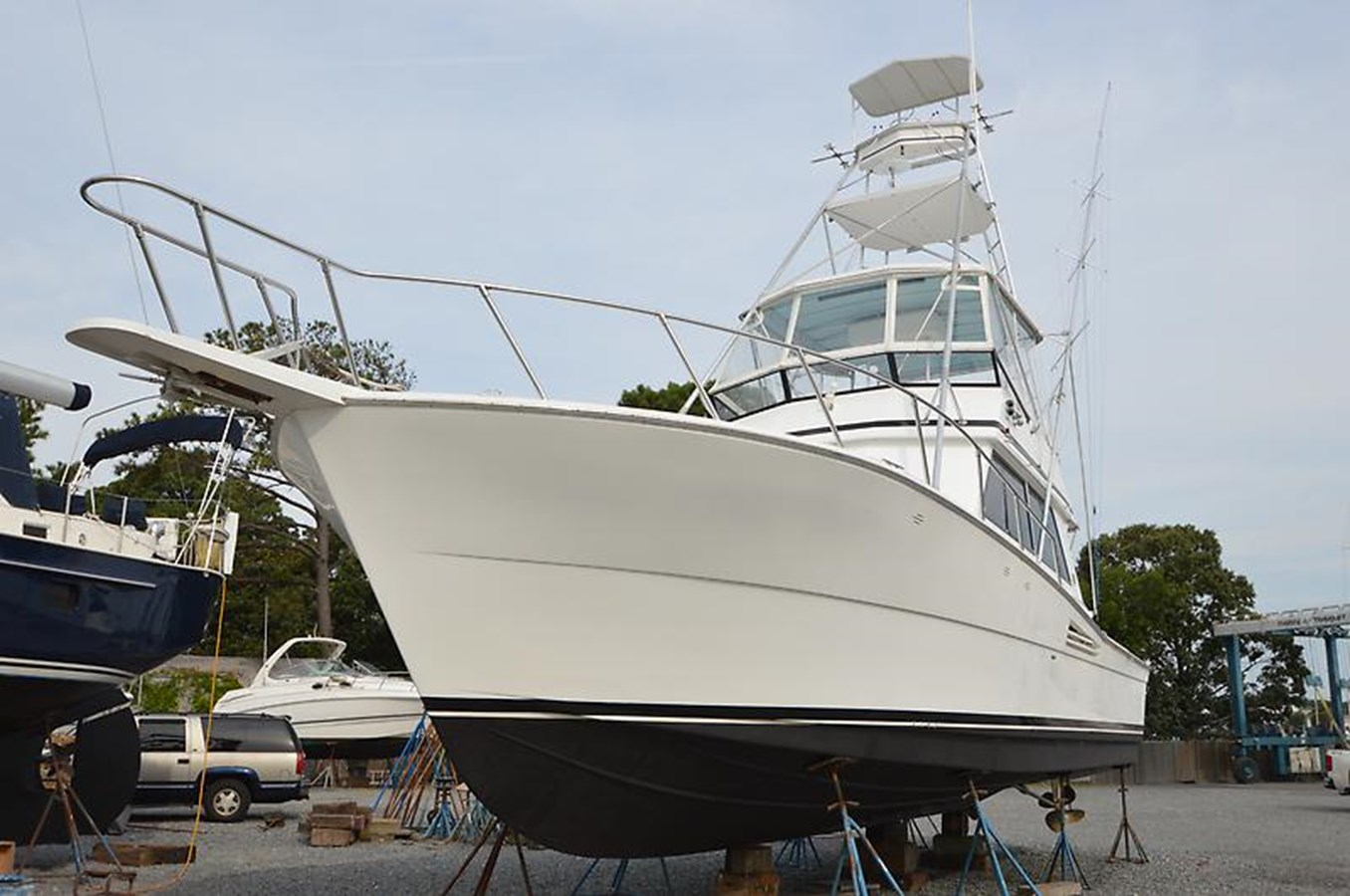 Port Bow Profile - 45 VIKING For Sale