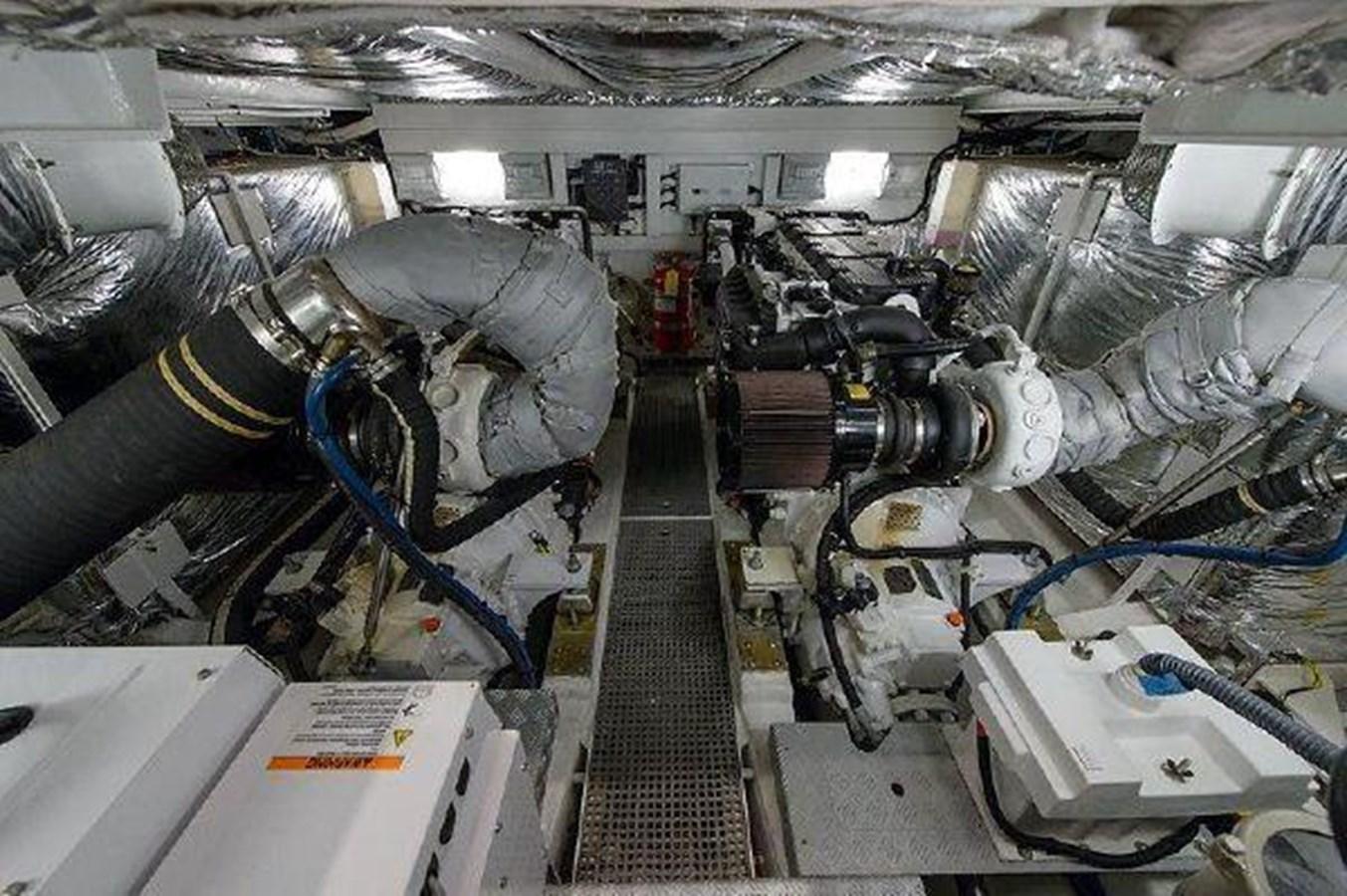 60 Princess Engine Room - 60 PRINCESS YACHTS For Sale