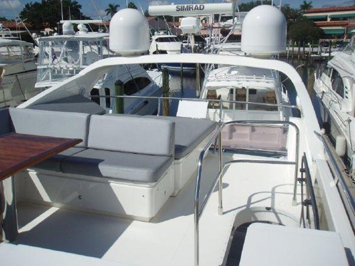 60 Princess Flybridge Looking Fwd - 60 PRINCESS YACHTS For Sale
