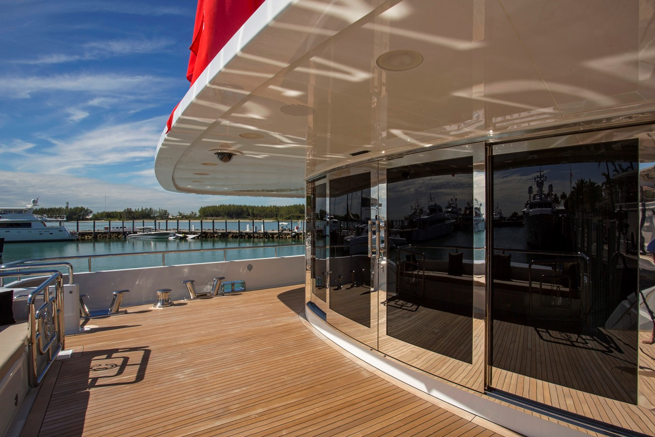 Main Deck Entrance - 214 CODECASA For Sale