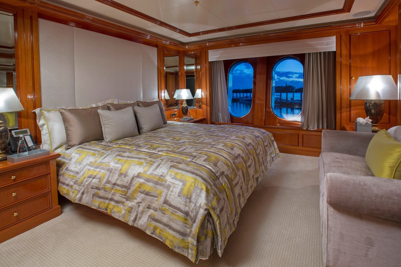 Main Deck, Forward Stateroom - 214 CODECASA For Sale