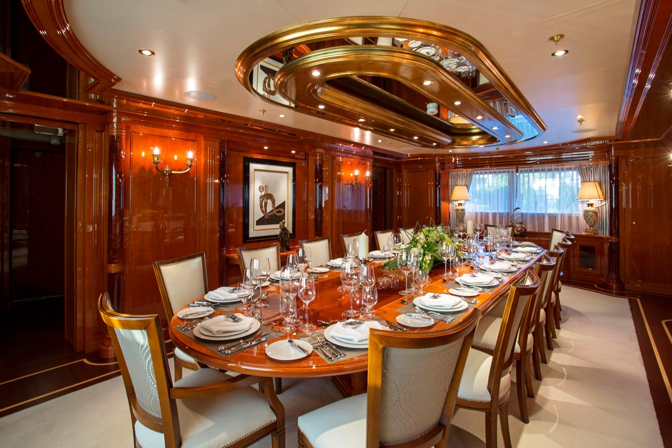 Main Deck Dining - 214 CODECASA For Sale