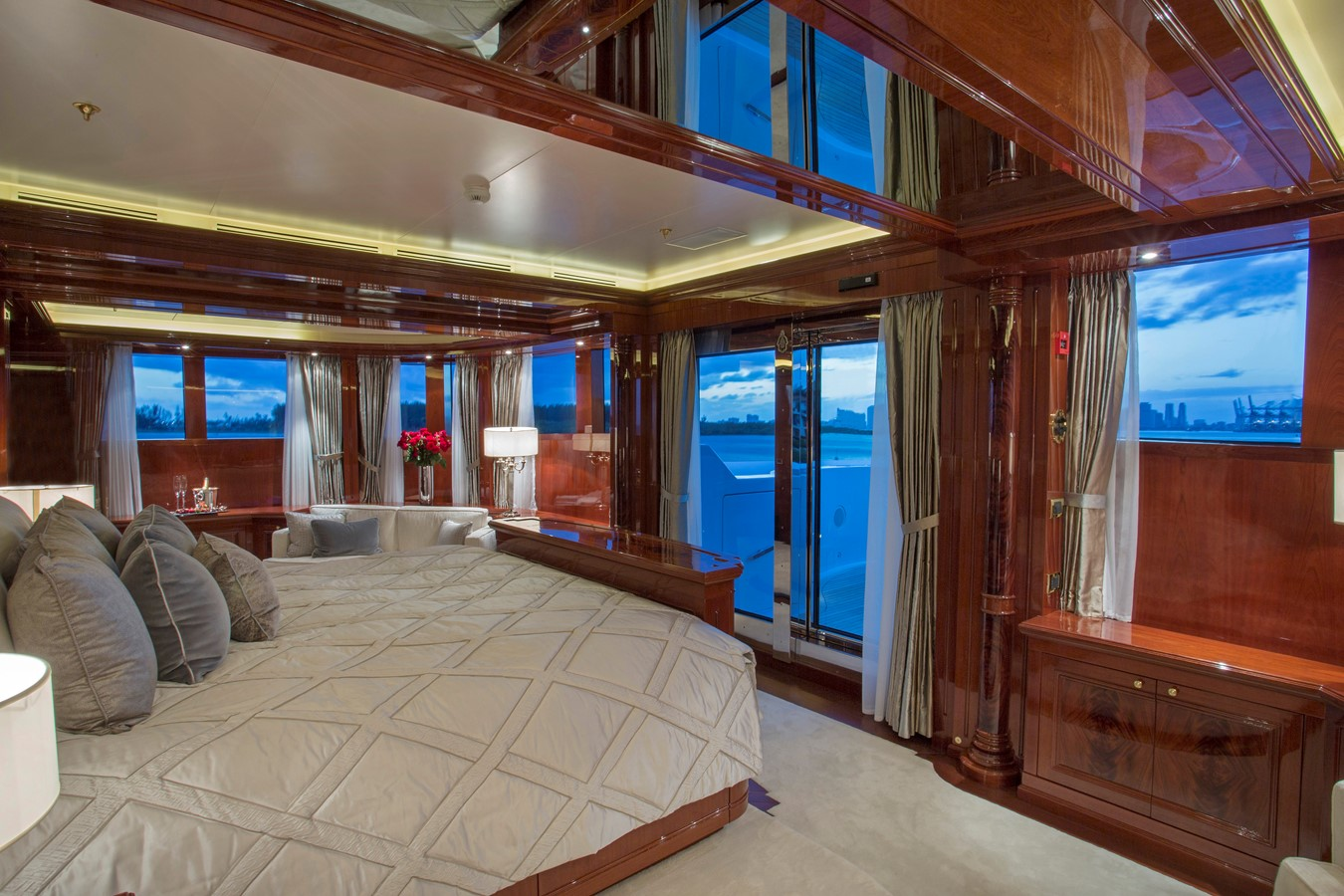 Second Deck, Master Stateroom - 214 CODECASA For Sale
