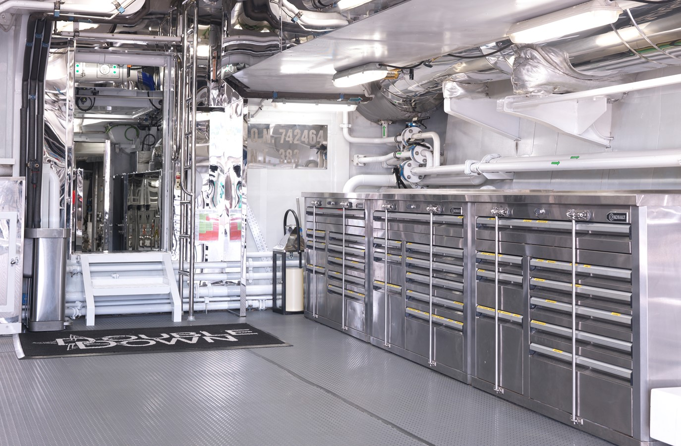 Engine Room - 214 CODECASA For Sale
