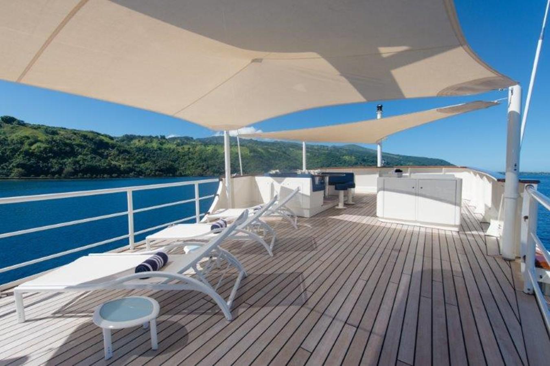 Sun deck lounging area - 193 SCHEEPSWERF SMIT For Sale