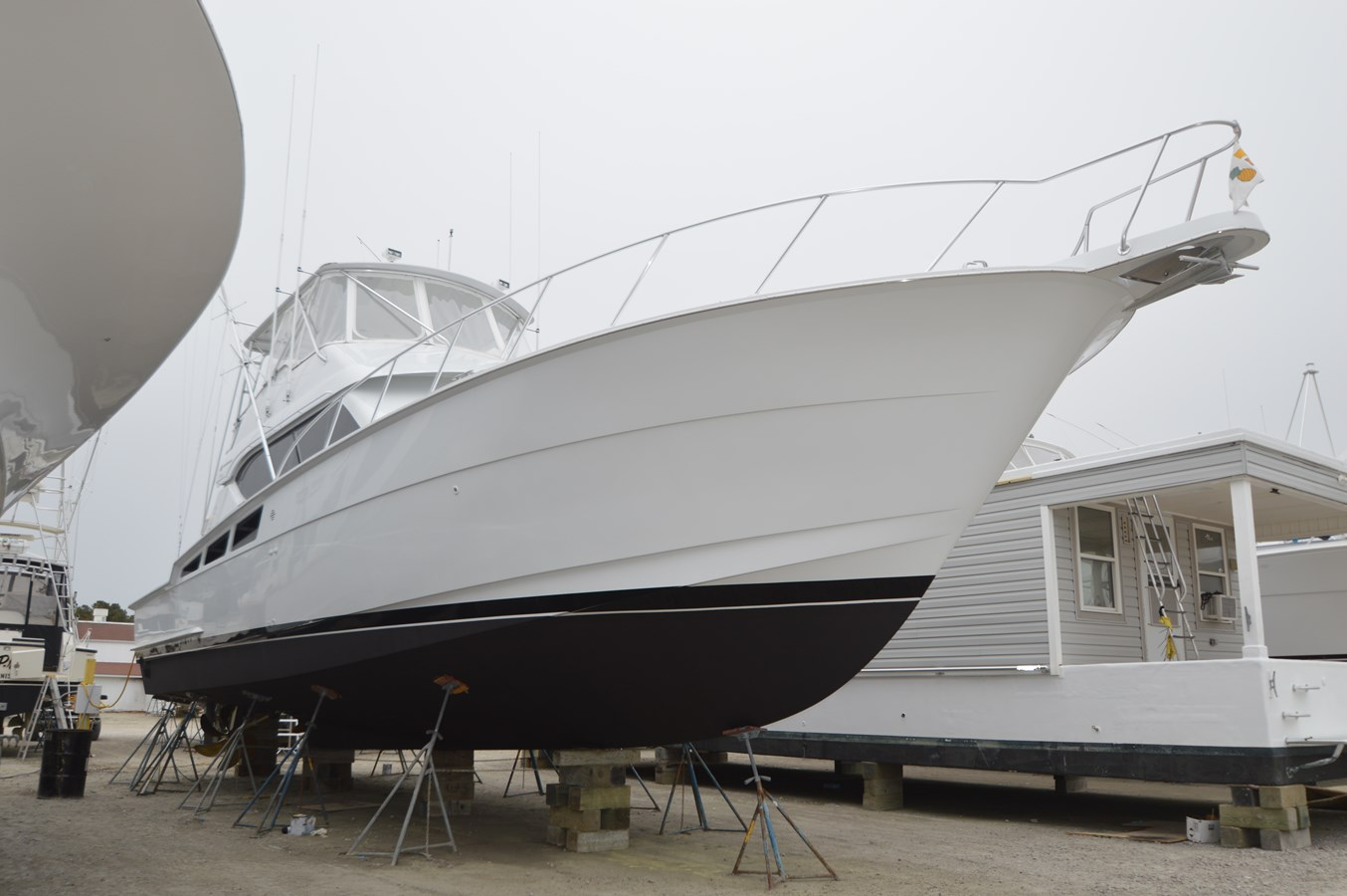 New Bottom Paint - 55 HATTERAS For Sale