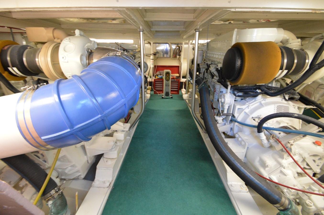 58 Bobby Sullivan - Engine Room - 58 Custom Carolina Bobby Sullivan For Sale
