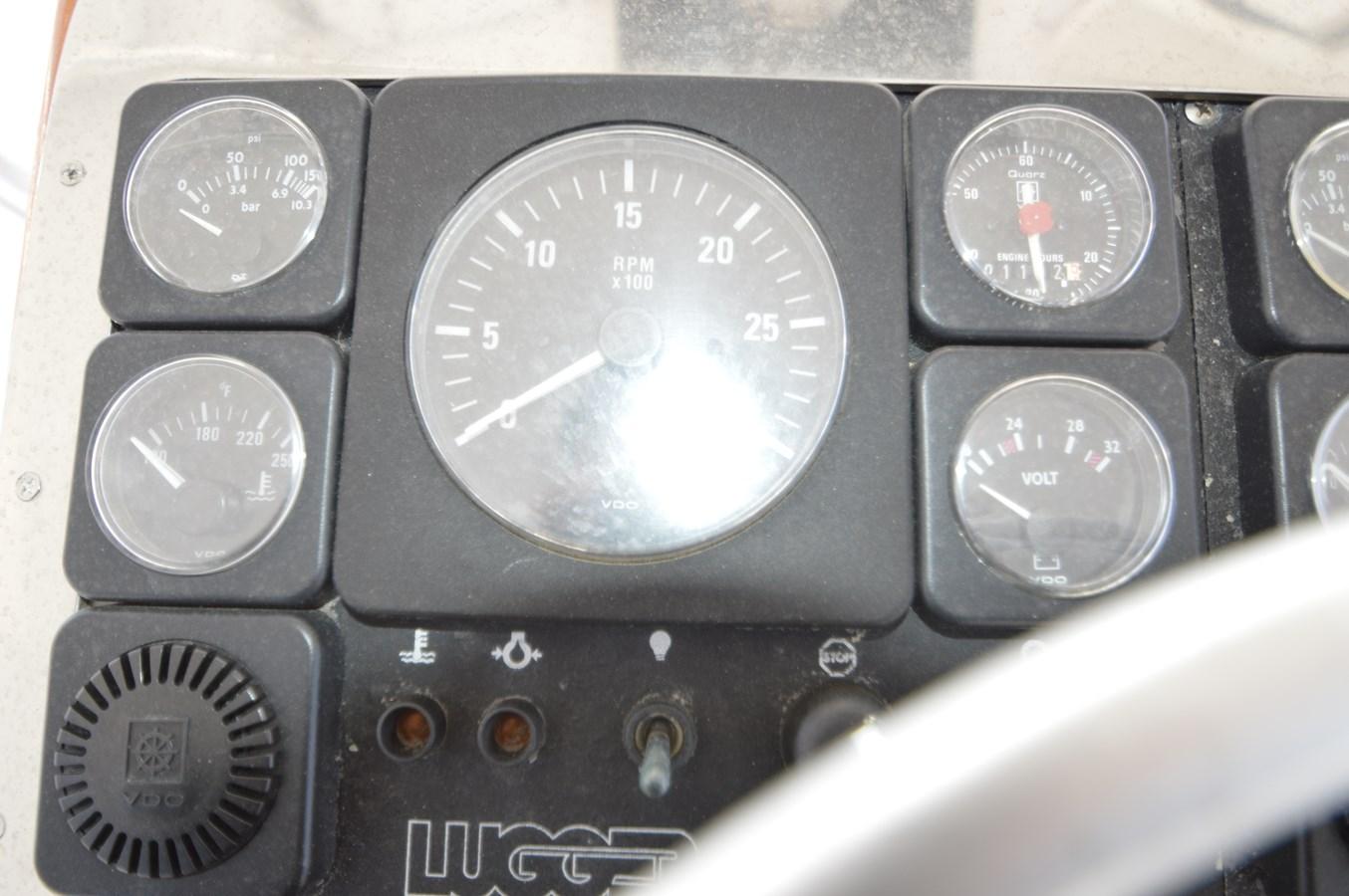 58 Bobby Sullivan - Port Engine Gauge Package - 58 Custom Carolina Bobby Sullivan For Sale