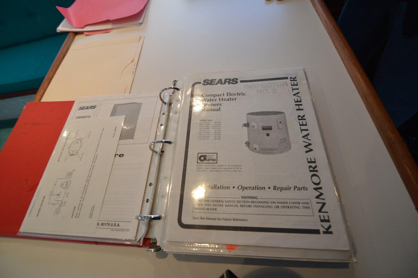 58 Bobby Sullivan - Water Heater Manual - 58 Custom Carolina Bobby Sullivan For Sale