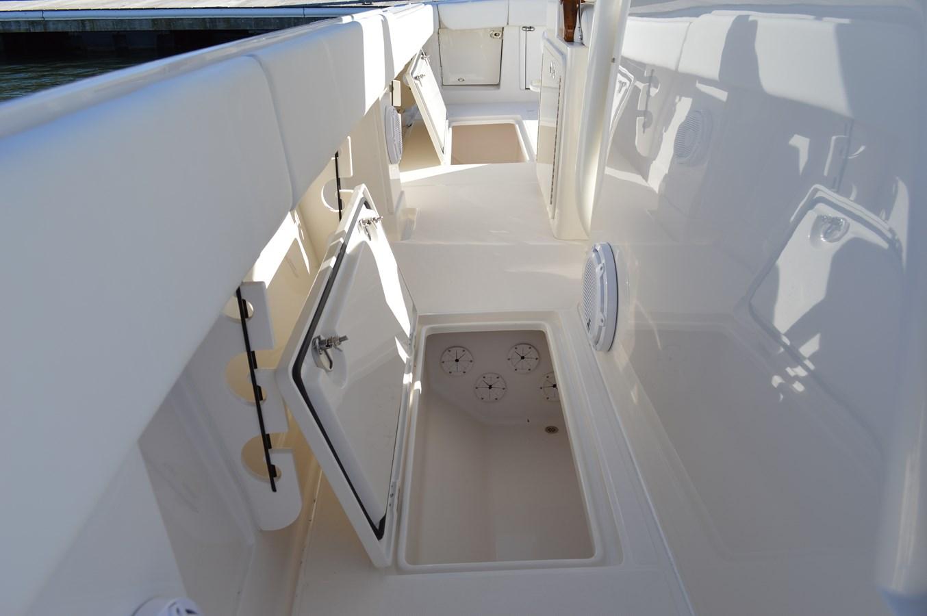 In-Deck Storage with Rod Locker - 38 JUPITER For Sale