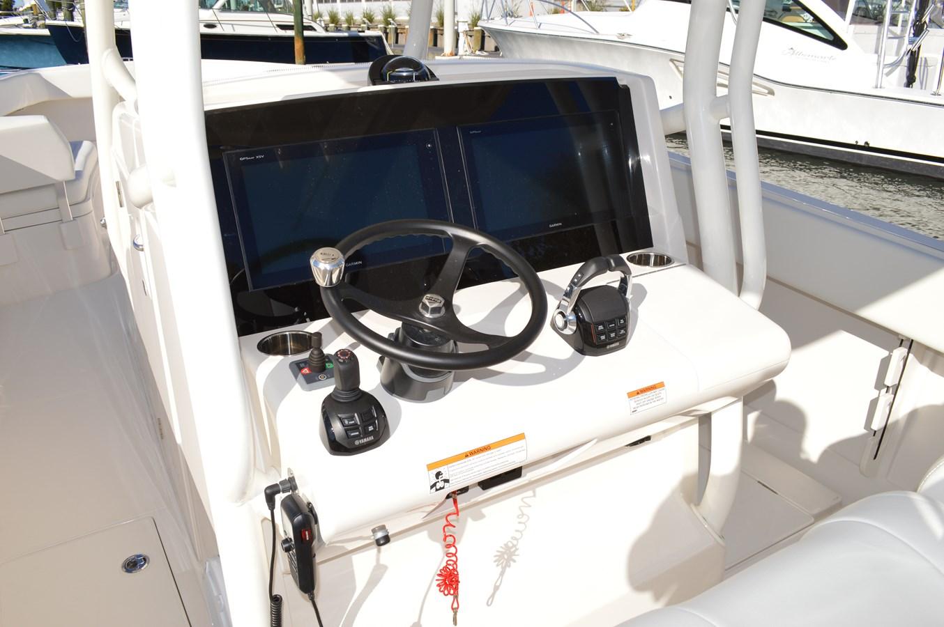 Garmin Electronics, Helm Master and Edson Wheel - 38 JUPITER For Sale