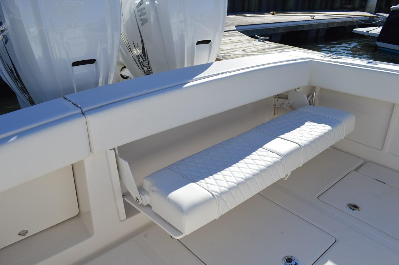 Fold Down Bench Seating - 38 JUPITER For Sale