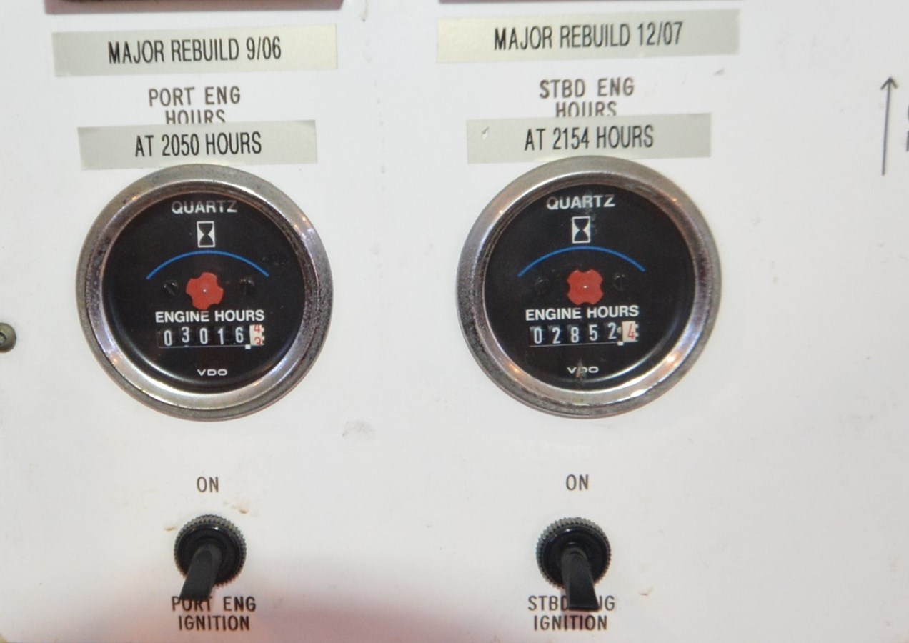 Engine Hours - 47 BUDDY DAVIS For Sale