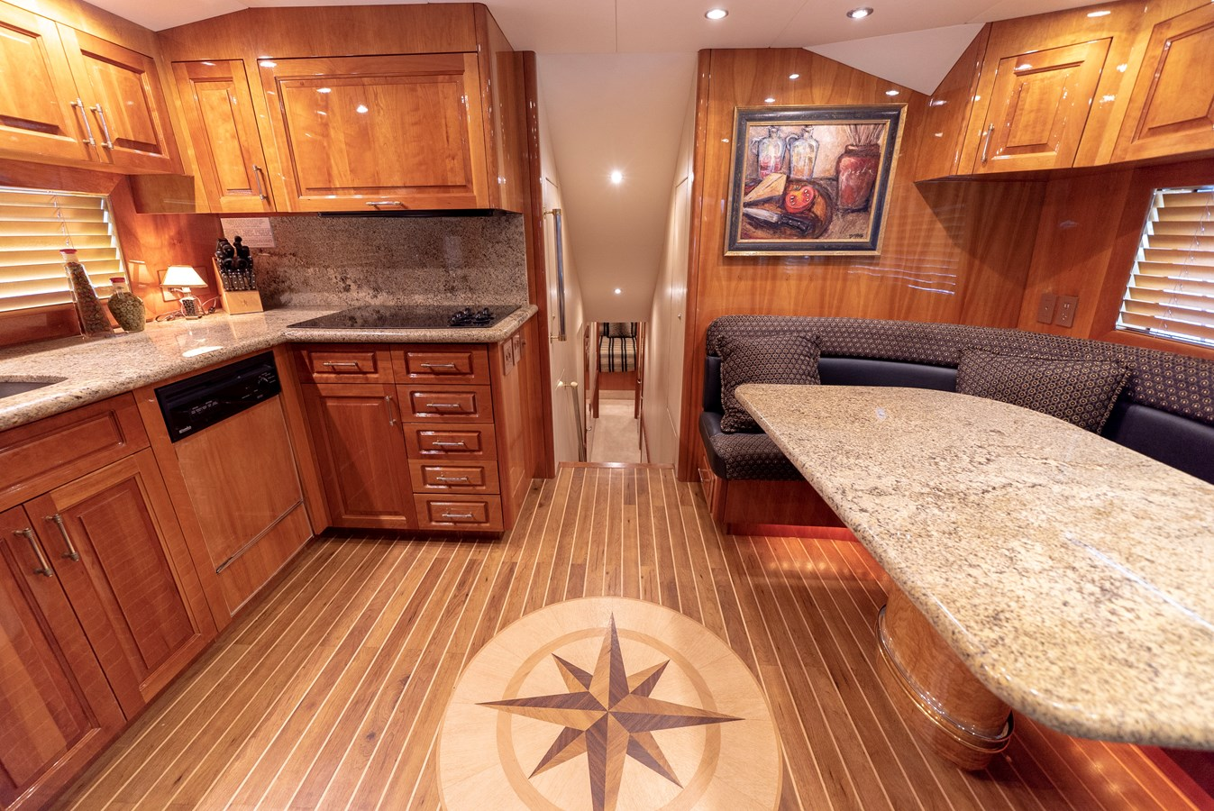 Galley - 70 HATTERAS For Sale