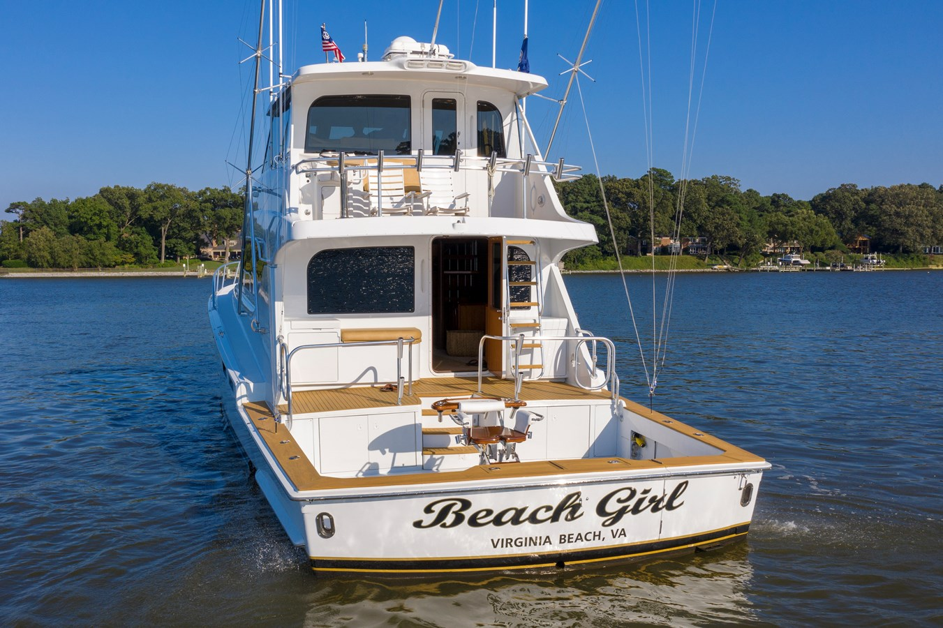 Transom - 70 HATTERAS For Sale
