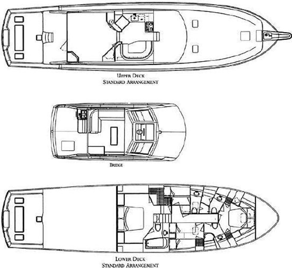 Layout - 70 HATTERAS For Sale