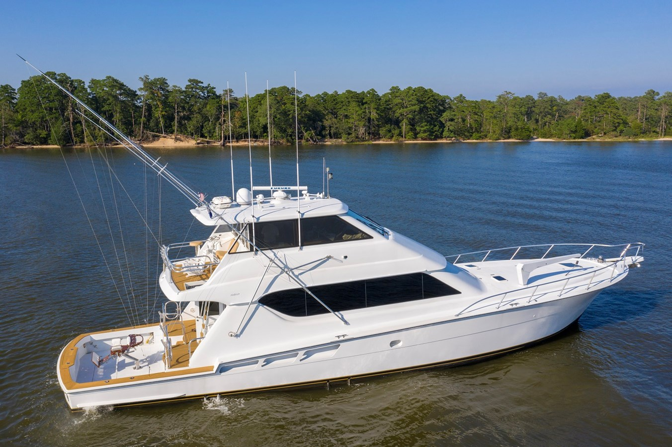 2003 70 Hatteras EB Convertible - 70 HATTERAS For Sale