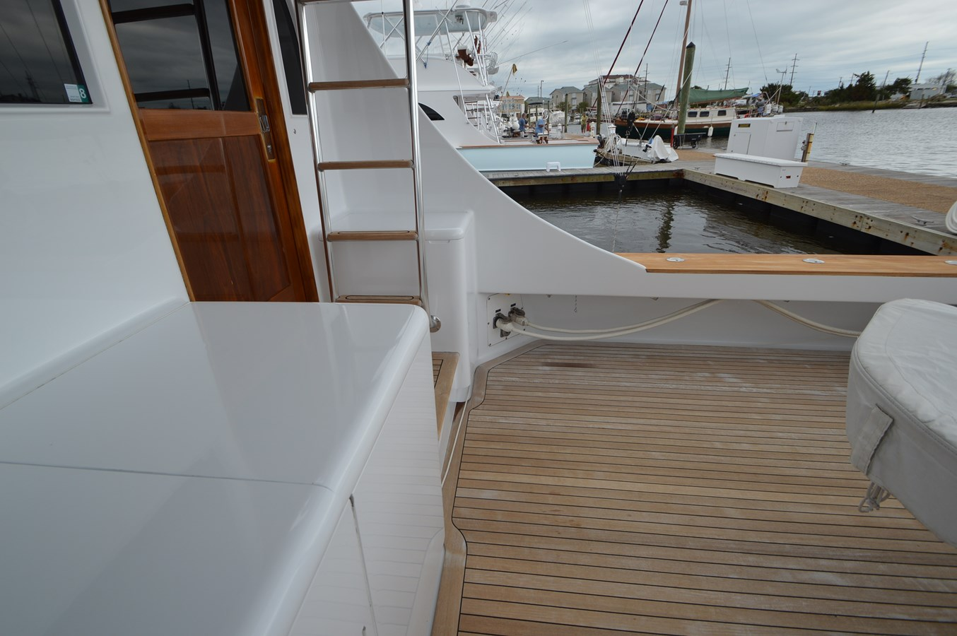 Cockpit - 58 JARRETT BAY For Sale