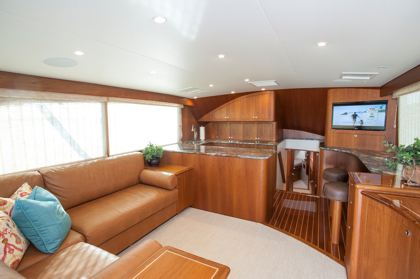 54 JBBW Salon/Galley - 54 JARRETT BAY For Sale