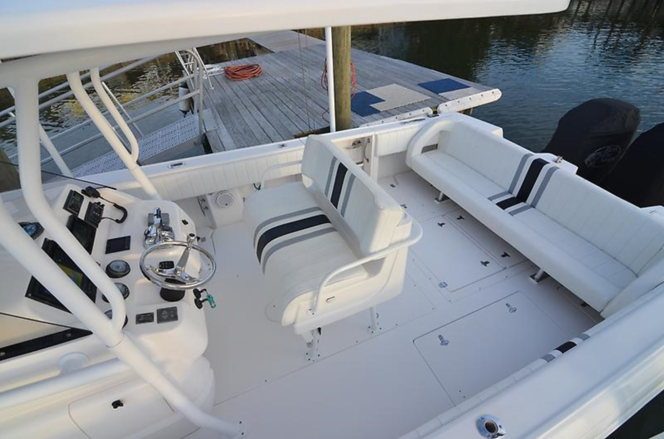 35 Intrepid 2008 with Repower - 35 INTREPID For Sale