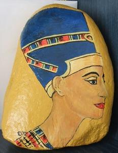 Nefertiti_ulei_pe_piatra_-original