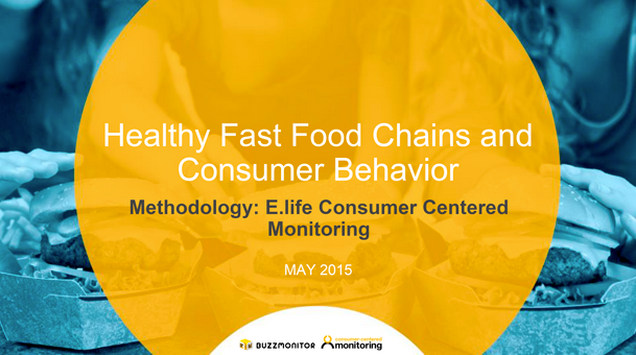 Analysis of tweets reveals surprising demographics of consumers interested in healthy fast food