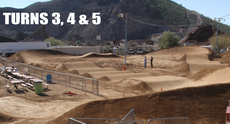 A sneak peak at Black Mountain BMX track